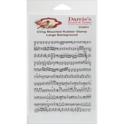Darcie's  -Estampe «Music Notes»