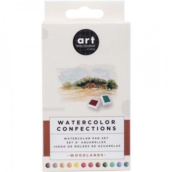 """Prima - Watercolor Confections palette """"Woodlands"""""""