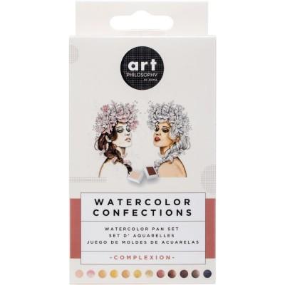"Prima - Watercolor Confections palette ""Complexion"""
