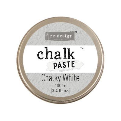 "Re-Design - Chalk paste couleur ""Chalky White"" 100ml"