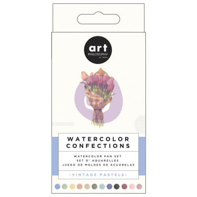 Prima - Watercolor Confections palette «Vintage Pastel»