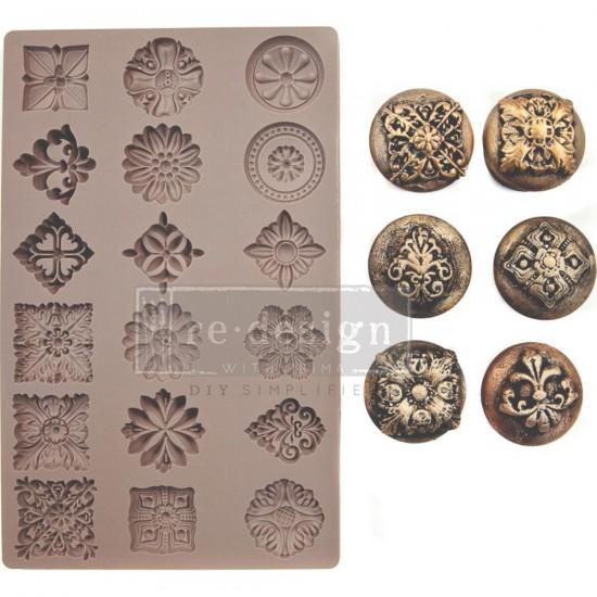 Prima Marketing - Moule Re-Design «Curio Trinkets»