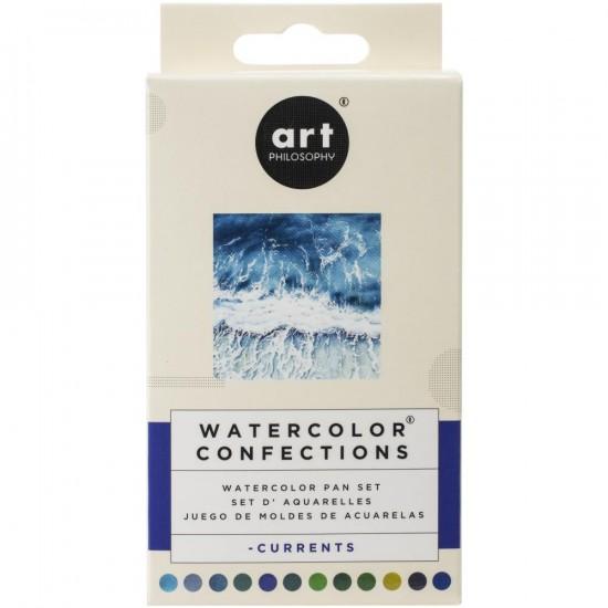 """Prima - Watercolor Confections palette """"Currents"""""""