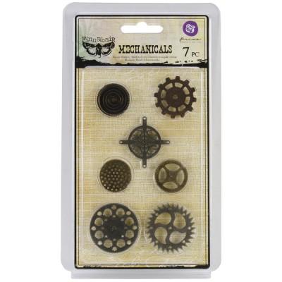 Finnabair - Embellissement «Gears» paquet de 7