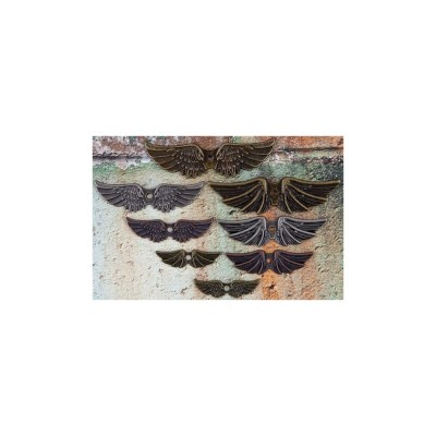 Finnabair - Embellissement «Winged» paquet de 8