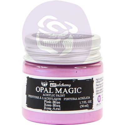 Finnabair Art Alchemy - Peinture acrylique «Opal Magic» couleur «Pink-Blue»  1.7 oz