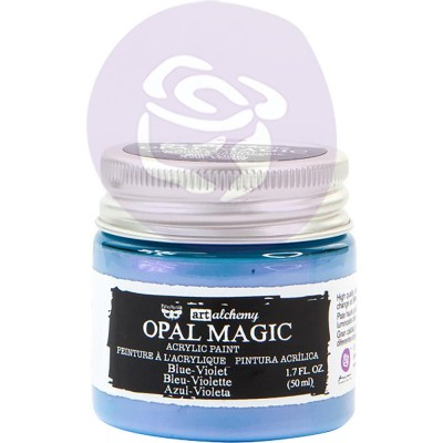 Finnabair Art Alchemy - Peinture acrylique «Opal Magic» couleur «Blue-Violet»  1.7 oz