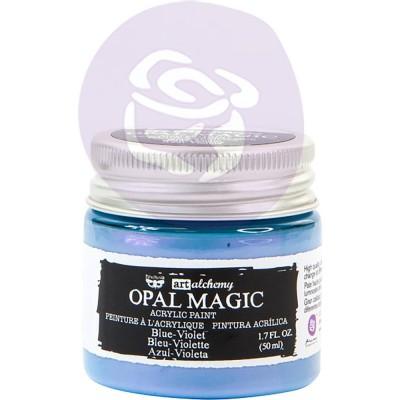 Finnabair Art Alchemy - Peinture acrylique «Opal Magic» couleur «Blue/Violet»  1.7 oz
