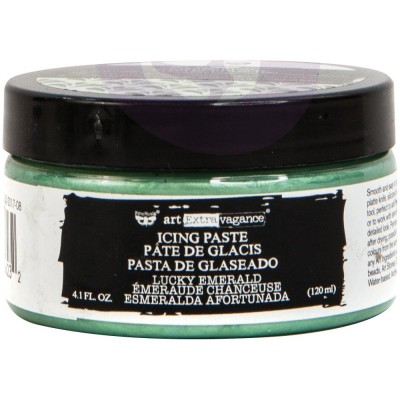 Finnabair Art Alchemy - Icing Paste couleur «Lucky Emerald»