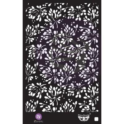 """Prima Marketing - Stencil Finnabair «Wild Berries» 6"""" X 9"""""""