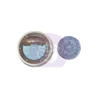 Finnabair Art Alchemy - Art Alchemy pâte brillante antique couleur «Blue Lagoon»
