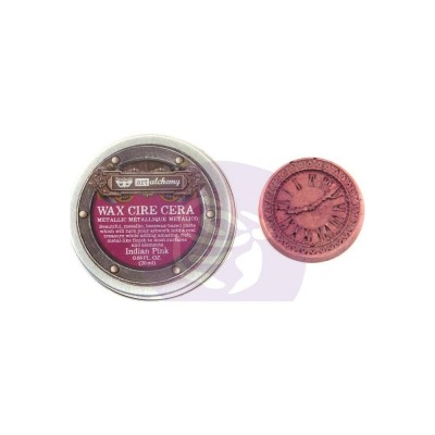 Finnabair - Art Alchemy pâte brillante antique couleur «Indian Pink»