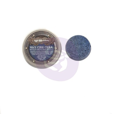 Finnabair -Art Alchemy pâte brillante antique couleur «Old Denim»