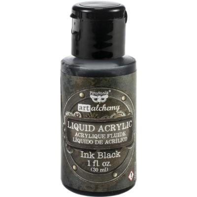 Finnabair - Peinture acrylique «Ink Black» 1oz