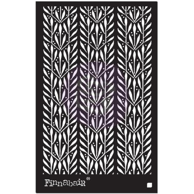 "Prima Marketing - Stencil Finnabair «Laurels» 6"" X 9"""