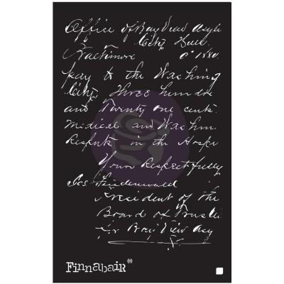 "Prima Marketing - Stencil Finnabair «Read my letter» 6"" X 9"""