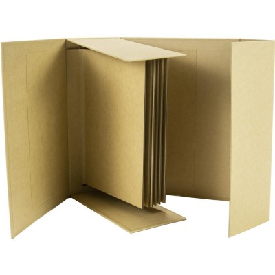 "Prima Marketing - Album «Hardware Chipboard Kraft» 8.5"" X 7"" X 3.25"""