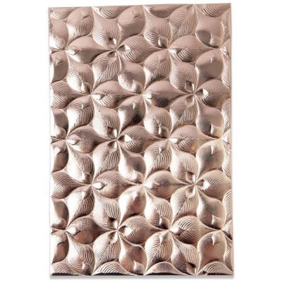 Sizzix - Plaques à embosser 3D de Tim Holtz «Organic Petals»