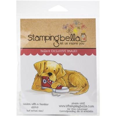 Stamping Bella - estampe «Golden with Sneaker»