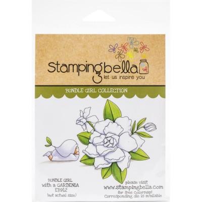 Stamping Bella - estampe «Bundle Girl With Gardenia» 2 pcs