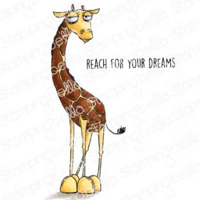 Stamping Bella - Ensemble estampe et dies «Oddball Giraffe»
