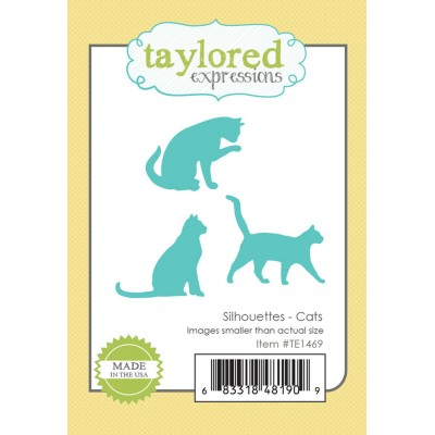 Taylored Expressions - Dies «Silhouettes - Cats» ensemble de 3 pièces