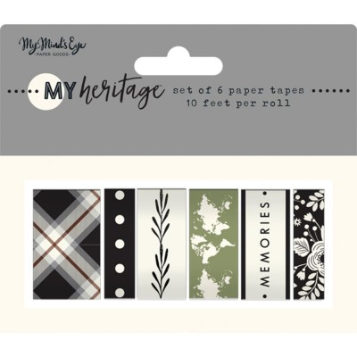 My Mind's Eye - Washi Tape collection «My Heritage»