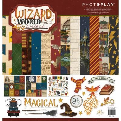 "PhotoPlay - Bloc de  papier double face «Wizard World II» 12""X 12""   12 feuilles"