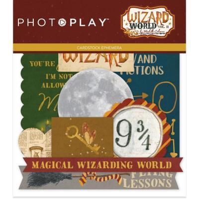PhotoPlay - Éphéméra «Wizard World II» ensemble 26 pcs