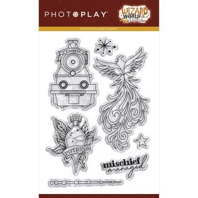 PhotoPlay - PhotoPlay Photopolymer Stamp «Wizard World II» 7 pièces