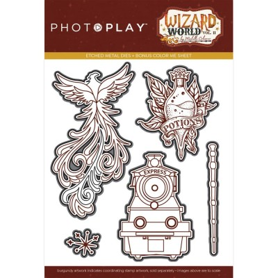 PhotoPlay - PhotoPlay Etched Die «Wizard World II» 5 pièces