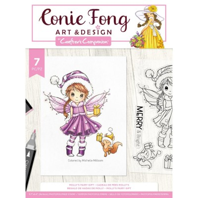 Crafter's Companion - Estampes claires «Molly's Fairy Gift» 7 pcs