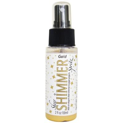 Imagine - Sheer Shimmer Spritz Spray couleur «Gold» 2oz