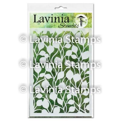 """Lavinia - Stencil «Buds» 6"""" x 8"""""""