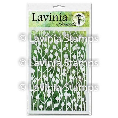"""Lavinia - Stencil «Berry» 6"""" x 8"""""""