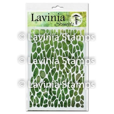 """Lavinia - Stencil «Crackle» 6"""" x 8"""""""