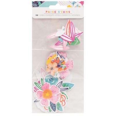 American Craft - Ensemble d'éphéméras collection «Floral : Go the Scenic route » 50 pièces