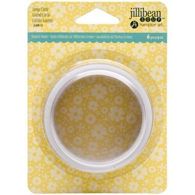 """Jillibean Soup - Cercle pour «Shaker» et enveloppes de 5.5"""" x 4.25"""" paquet de 6"""