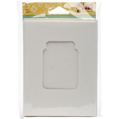 """Jillibean Soup - Cartes «Shaker»modèle Jar  et enveloppe de 5.5"""" x 4.25"""" paquet de 6"""