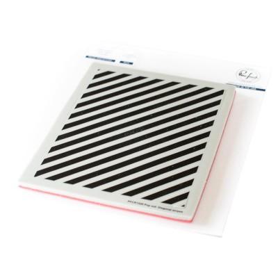 Pinkfresh Studio - Estampes modèle «Pop-Out Diagonal Stripes» 18 pcs