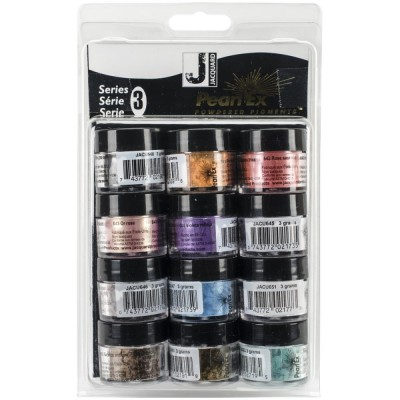 Jacquard's «Pearl Ex Powdered Pigment Series 3» 12 pièces
