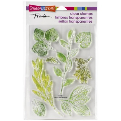 Stampendous - Estampe «Leafy Imprint» 8 pcs