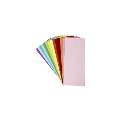 "Picket Fence - enveloppe Slimline «Rainbow»  4.125"" X 9.5"""