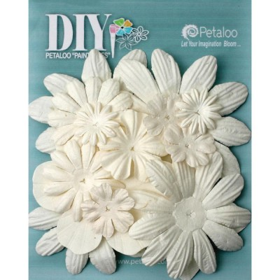 Petaloo - DIY «Mulberry Flower Layers» 16/Pkg