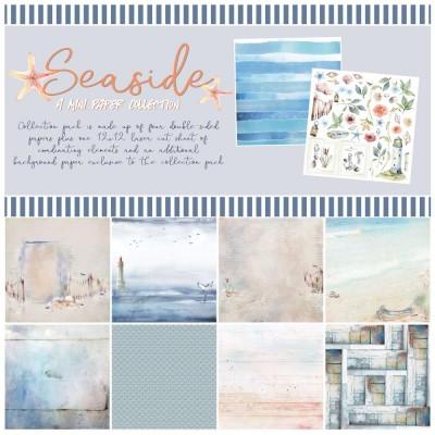 """49& Market  - bloc de papier collection «Seaside» 12 X 12"""""""