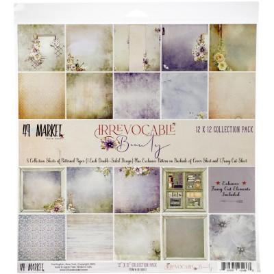 """49& Market  - bloc de papier collection «Irrevocable Beauty» 12 X 12"""""""