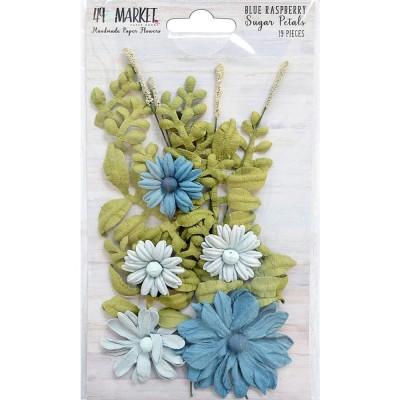 49 & Market - Sugar Petals «Blue Raspberry» 19/pqt