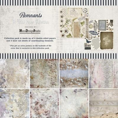 """49& Market - bloc de papier collection «Remnants» 12 x 12"""" 4 feuilles"""