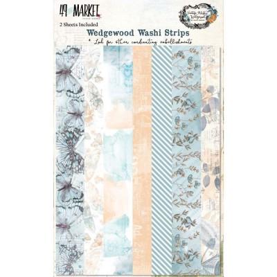 49 & Market - Ensemble de washi strips collection «Vintage Artistry Wedgewood»