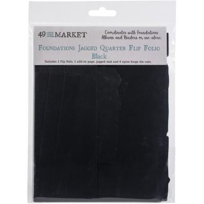 49 & Market - Pochette «Foundations Jagged Quarter Flip Folio»